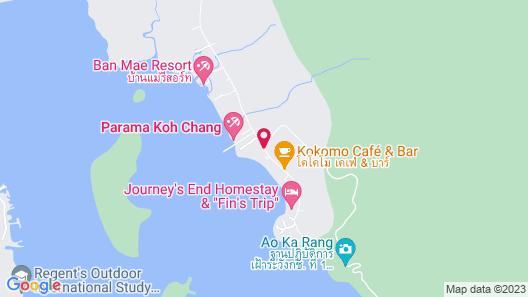 Parama Koh Chang Map