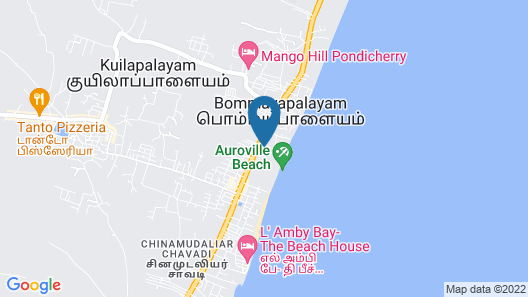 Soorya Beach Resort Map