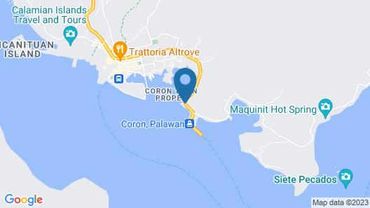 Seafront Bay Inn Map