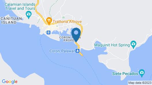Two Seasons Coron Bayside Hotel Map