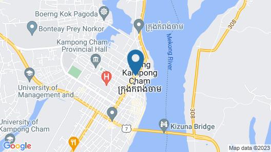 Phkar Chhouk Tep Hotel Map