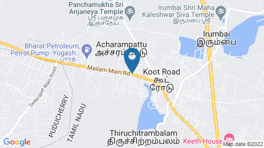 MADRAS GUEST HOUSE Map