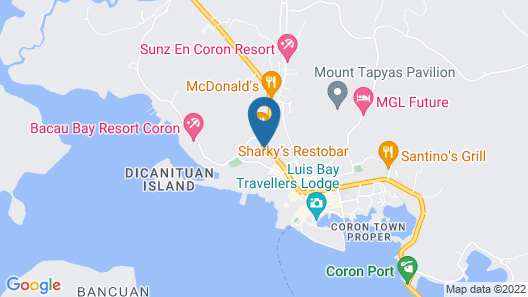 Coron Bancuang Mansion Map