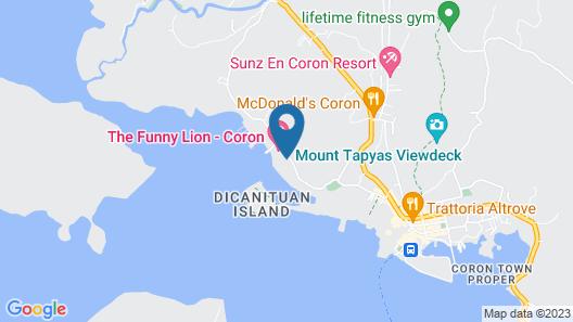 Bacau Bay Resort Coron Map