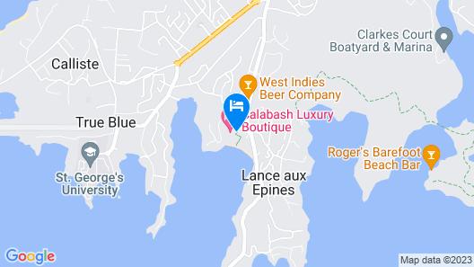 Calabash Luxury Boutique Hotel Map
