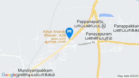 OYO 30545 Hotel Jeevan Park Map