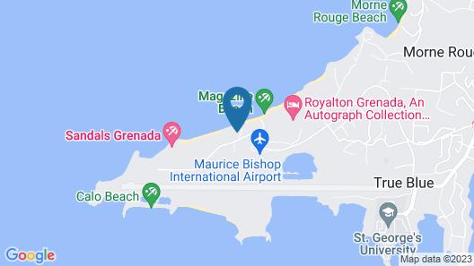 Maca Bana Luxury Boutique Resort Map