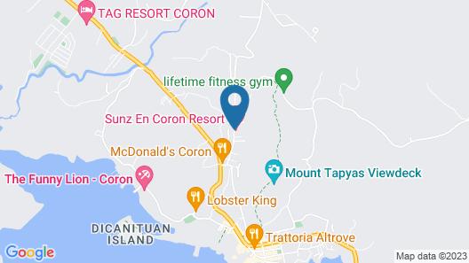 Coron Soleil Garden Resort Map