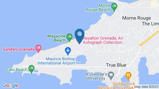 Royalton Grenada Resort and Spa - All Inclusive Map