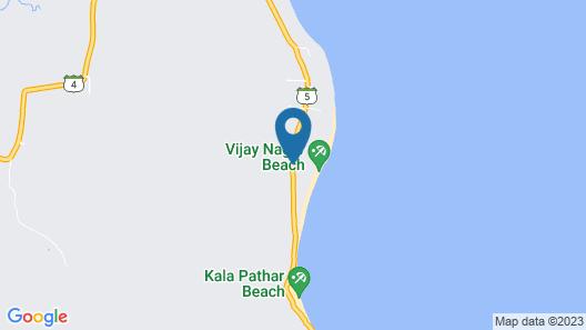 Sandyy Wavess Beach Resort Map
