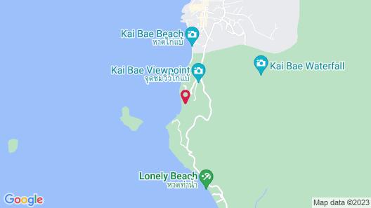 Sea View Koh Chang Map