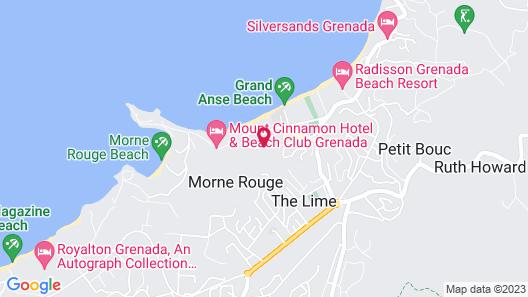 Siesta Hotel Map