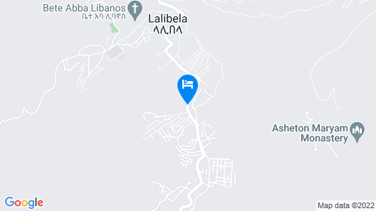 Zan-Seyoum Hotel Map