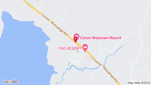 Coron Westown Resort Map