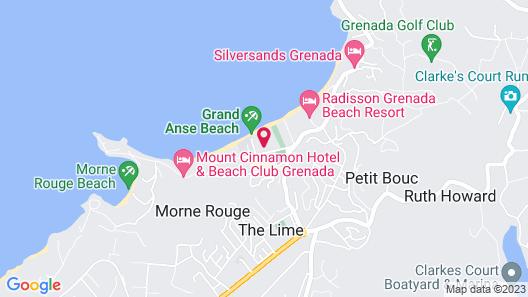 Coyaba Beach Resort Map