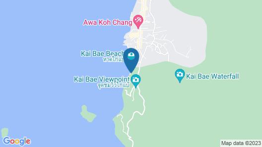 Mam Kai Bae Beach Resort Map