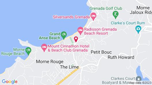 Allamanda Beach Resort Map