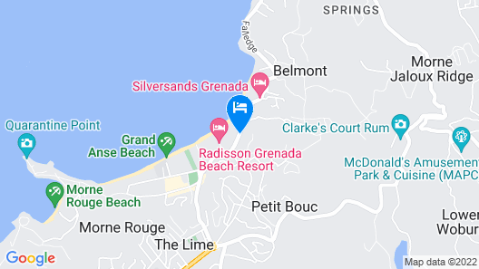 Seabreeze Hotel Map