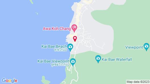 Paradise Bungalows Map