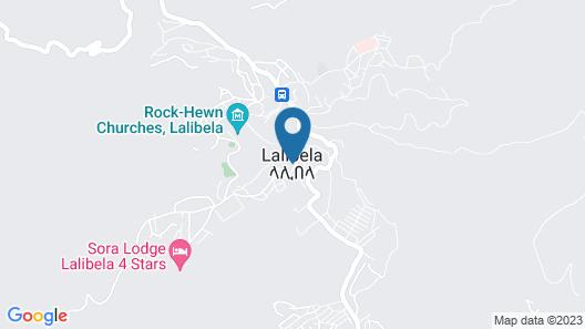 Lalibela Roha Tour Map