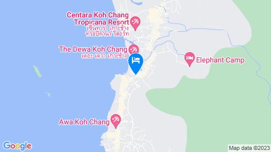 The Splash Koh Chang Map