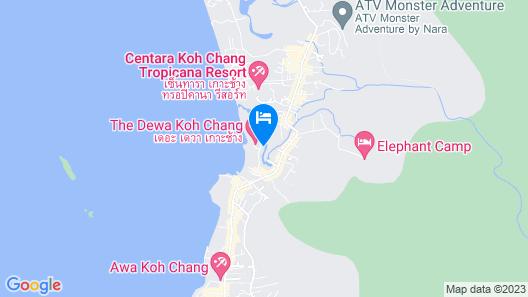 The Dewa Koh Chang Map