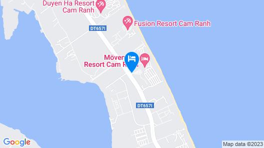 Movenpick Resort Cam Ranh Map