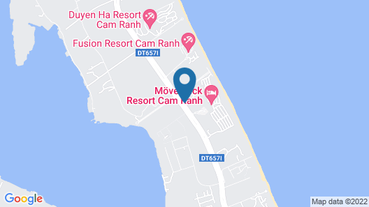 Radisson Blu Resort Cam Ranh Map