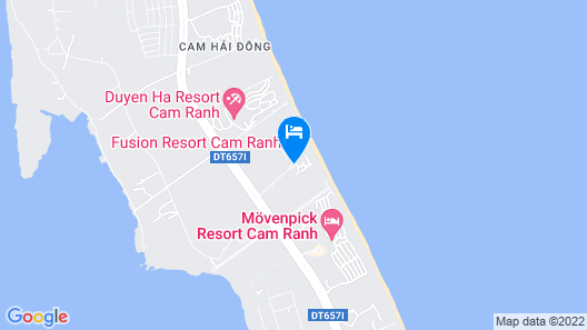 Fusion Resort Cam Ranh Map
