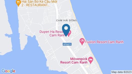 Duyen Ha Resort Cam Ranh Map