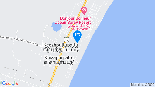 Dune Eco village and Spa Map