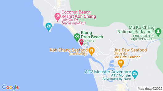 Klong Prao Resort Map