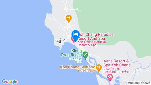 Koh Chang Paradise Resort & Spa Map