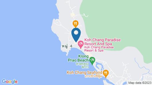 Barali Beach Resort & Spa Koh Chang Map