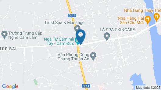 Hong Mai Hotel Map