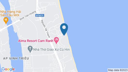 Suite & Pavilion Thien Kim Map