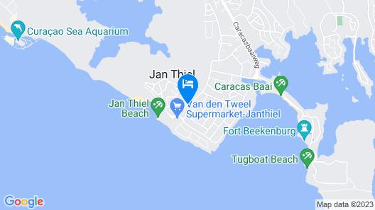 Livingstone Jan Thiel Resort Map