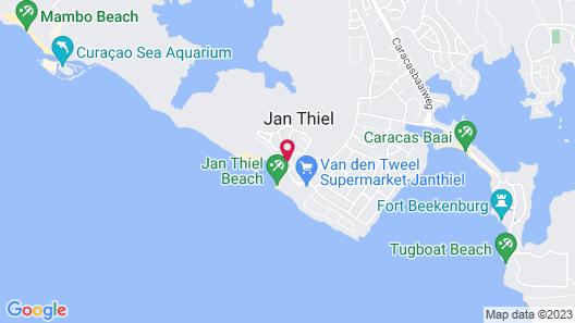 Papagayo Beach Resort Map