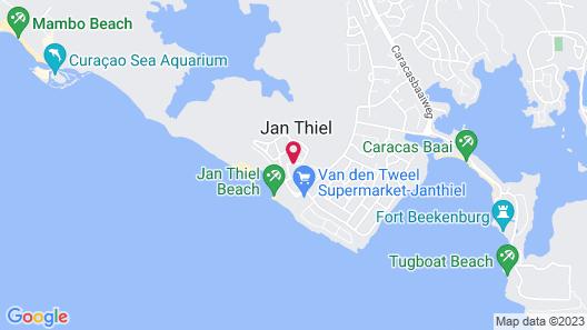 Papagayo Beach Hotel Map