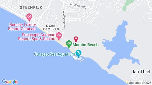 Bon Bini Seaside Resort Map
