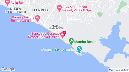 Sunscape Curacao Resort, Spa & Casino Map