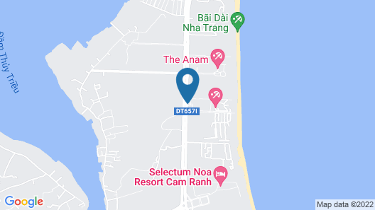 Cam Ranh Riviera Beach Resort & Spa Map