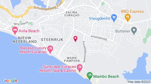 ACOYA Curacao Resort, Villas & Spa Map