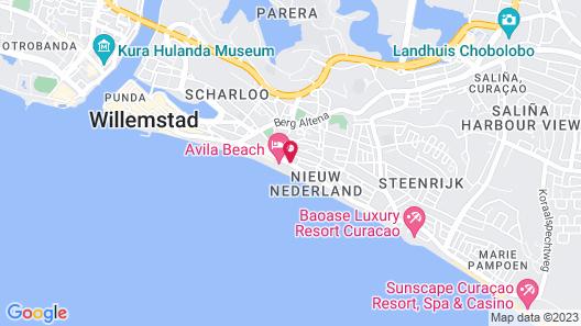 Avila Beach Hotel Map