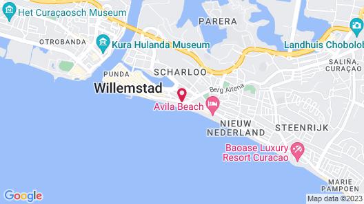 Scuba Lodge & Ocean Suites Map