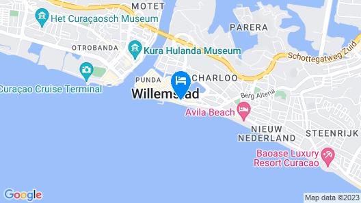 Saint Tropez Boutique Hotel Map