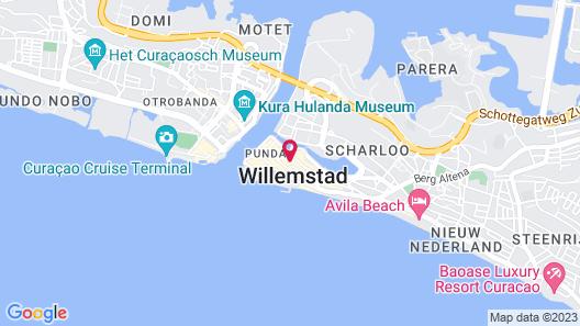 Academy Hotel Curacao Map