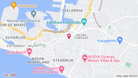 O Casarao Guesthouse Map