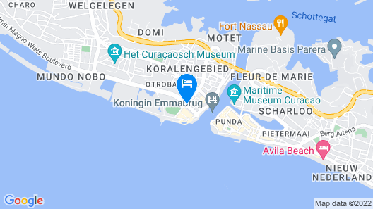Renaissance Curacao Resort & Casino Map