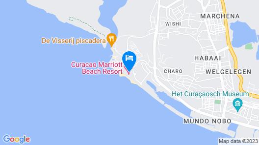 Curacao Marriott Beach Resort Map